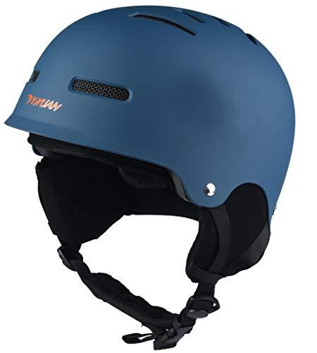 YIYUAN Skiing Helmet Skate Helmet SkateBoard Bike Helmet With Rear light