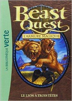 Beast Quest 14 - Le lion à trois têtes de Adam Blade,Blandine Longre (Traduction) ( 9 février 2011 )