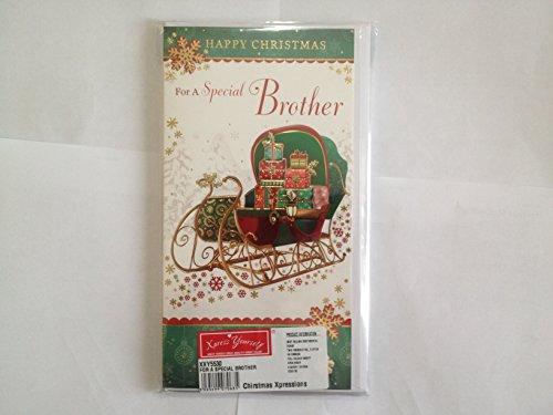 In Loving Memory di a caro fratello a Natale-Grave/Graveside-Card