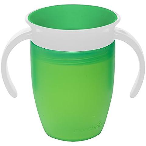 Munchkin - Miracle 360 - Tazza da 200 ml, colore: verde, confezione da 1 pezzo