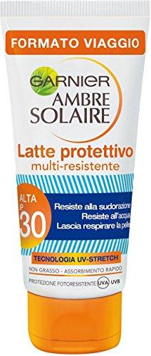 Garnier Ambre Solaire Latte Protettivo Multi-Resistente IP 30, 50 ml