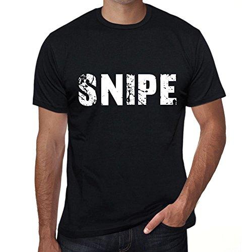 Snipe Herren T Shirt Schwarz Geburtstag Geschenk 00553 (Gefährlich Designs T-shirts)