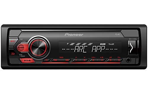 Pioneer-MVH-S110UB-1-DIN-Autoradio-Shortbody-USB-AUX-passend-fr-Mitsubishi-Colt-VI-Z30-Z30G-Z3V-2004-2008-dunkelgrau