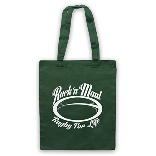 Ruck And zitta Rugby borsa custodia For Life Verde scuro