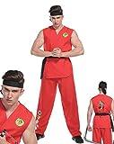 Costume de combattant pour hommes masculin KEN Karate Kid Ryu Robe de mariée à une taille Ninja Lee
