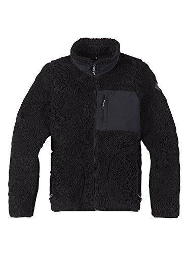 Burton Damen Bombay Full-Zip Fleece Pullover, True Black, XS Burton Full Zip Sweatshirt