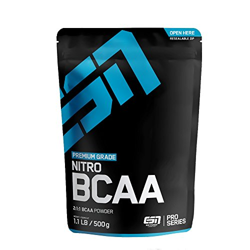 ESN Nitro BCAA Powder, Blackberry, 500g
