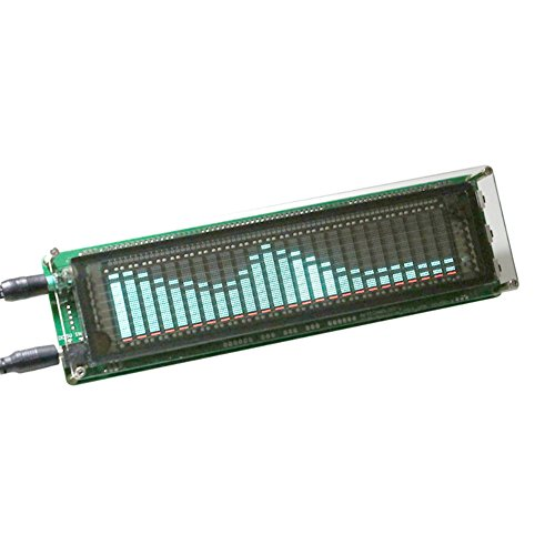 AIYIMA 15 Level VFD Musikspektrumanzeige Verstärker Board Level Indicator VU Meter Geschwindigkeit verstellbar AGC Mode mit Hülle