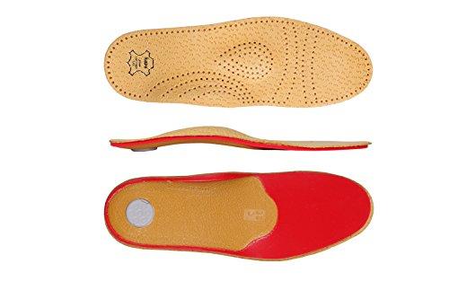 Schuheinlagen, Einlegesohlen Leder, Orthopädische Einlagen, Relax Shock Absorber Pecari - 45