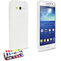 Muzzano F95628 - Funda para Samsung Galaxy Grand 2, color blanco
