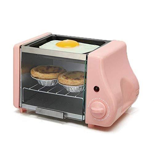 SMGLJJ Fácil Acceso Horno Tostador eléctrico multifunción Mini Hornear panadería Desayuno asado...