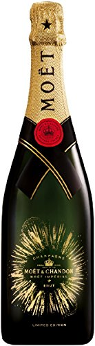 Moet & Chandon Brut Imperial Bursting Bubbles Champagner Limited Edition (1 x 0.75 l)