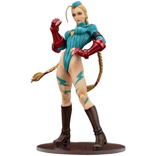 BGFtoy Figura Street Fighter Cammy Figura 22.5 CM...