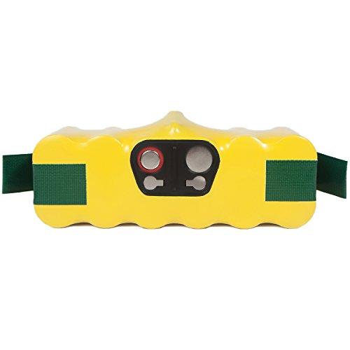 FLAGPOWER 4500mAh 14.4V Staubsauger Akku für iRobot Roomba 500 600 700 800 Series 880 780 790 870 R3 80501 4419696 4500mAh Accu 14.4V Ni-MH Batterie