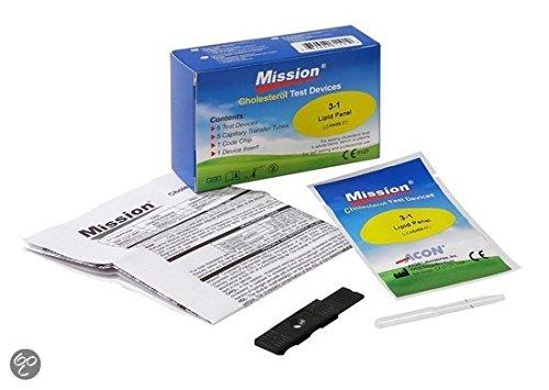 3-in-1 Cholesterin Teststreifen für Mission 3-in-1 Messgerät (Cholesterin-test)