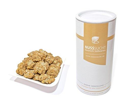 Gebrannte Walnüsse | Inhalt: 500g | ohne Zusatz- und Konservierungsstoffe | mit wenig Zucker