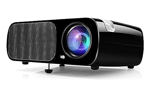 Vidéoprojecteur HD, Projecteur Home Cinéma Ogima BL20, 2600 Lumens Projecteur