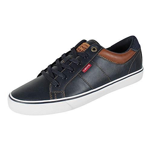 Levi's Herren Sneaker Abbott Navy blau, Größe:46