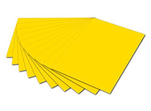 Folia Fotokarton MaxB 6114 50 x 70 cm 300 g/m² 10 feuille Bananengelb