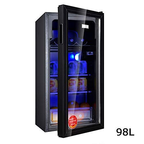 98l Kleiner Minikühlschrank Home Single Door Ice Bar Tee Wein Kühlmöbelkühlung | Erhaltung | Weinlagerung 385 x 360 x 828 mm -