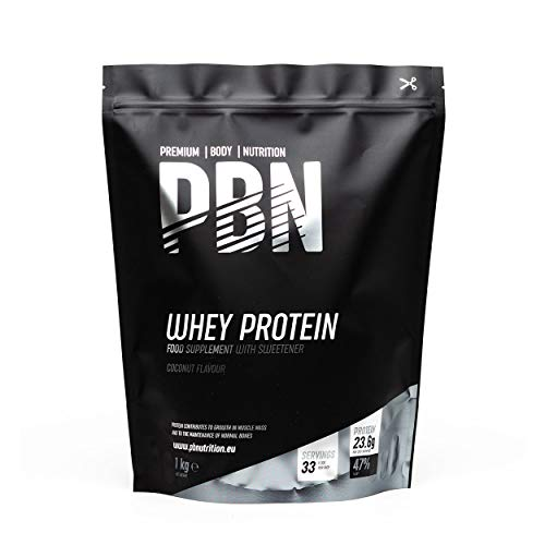 PBN Whey Protein Powder 1kg Coconut