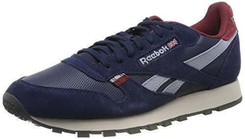 Reebok Herren Classic Leather CN7178 Sneaker, Blau (Navy Cn7178), 46 EU