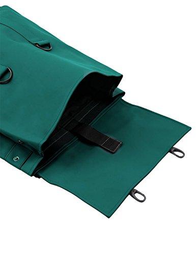 Rains Messenger Herren Rucksack Schwarz grün, dunkelgrün
