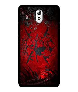 Chnno 2d cartoon Printed Back Cover For Lenovo Vibe P1M No- 1663