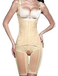 TININNA Body Faja Modeladora Reductora Full Body Shaper Sin Costuras para Recuperación Post-parto para Mujeres.-Desnudo XXXL