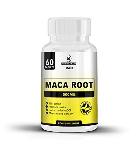 Maca Andina Suplemento: tabletas de raíz de maca de alta resistencia 1500 mg por dosis – maca cápsulas - contiene extracto de maca en polvo - ayuda con la fertilidad, la energía y la libido para hombres y mujeres