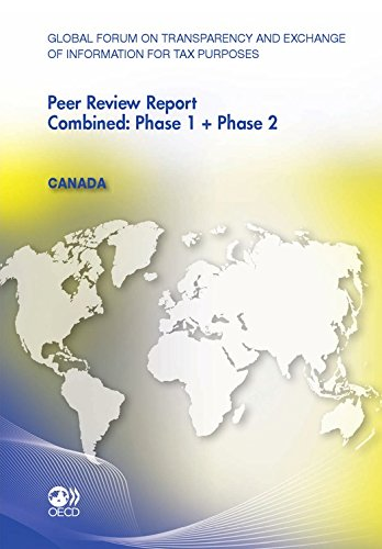 Global Forum on Transparency and Exchange of Information for Tax Purposes Peer Reviews: Canada 2011: Combined: Phase 1 + Phase 2 (ECHANGES INDUST) (English Edition)