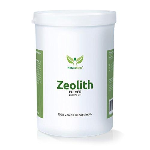 NaturaForte Zeolith Klinoptilolith 1000g extra fein in Premiumqualität