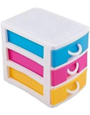 D&G ONLINE Drawers Table Top Storage Box | Multipurpose Storage Chest, Plastic - Small Size