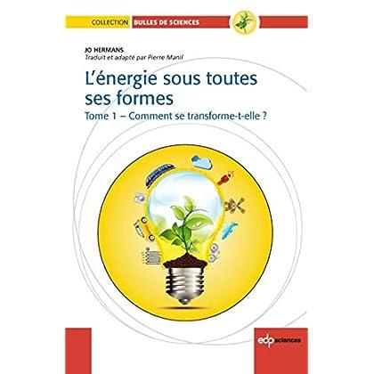 L'énergie sous toutes ses formes - Tome 1 - Comment se transforme-t-elle ?