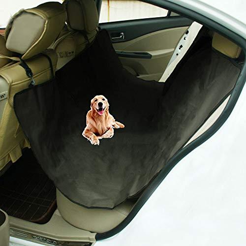 DYYTR Autositzbezüge Für Kleine Und Große Autos, Autositzbezüge Für Hunde, Gesteppter 600D Oxford-Haustier-Sitzbezug, Schwarz (Gesteppte Autositzbezüge Für Hunde)