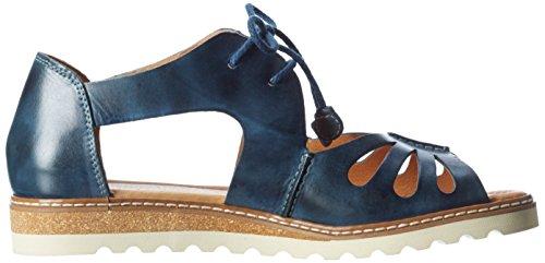 Pikolinos Alcudia W1l_v17, Sandales Bout Ouvert Femme Bleu (Ocean)