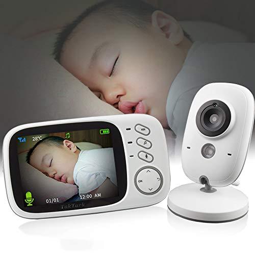 Vb603 Wireless Video Farbe Baby Monitor Mit 3,2 Zoll Lcd 2 Way Audio Talk Nachtsicht ÜBerwachung ÜBerwachungskamera Babysitter
