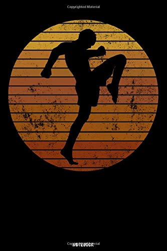 Notebook: Retro Martial Arts Tra...
