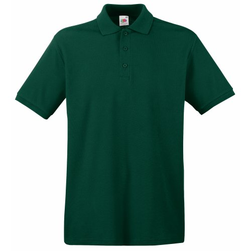 Fruit of the Loom Premium Polo - Farbe: Forest Green - Größe: M -
