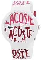 Reloj Lacoste unisex de silicona multicolor de Lacoste