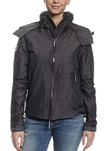 Superdry Windcheater Women CLIFF HIKER Mid Charcoal Marl Navy,