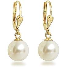 Perlenohrringe  Suchergebnis auf Amazon.de für: perlenohrringe gold