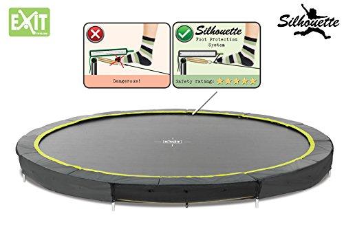 EXIT Silhouette Bodentrampolin 427 Durchmesser Trampolin 12941400 -