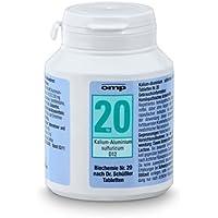 Schüssler Salz Nr. 20 Kalium-Aluminium sulfuricum D12 - 400 Tabletten, glutenfrei