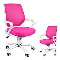 Ergonomic FBB teenager Office Mesh Chair, Swivel Kid Gaming Computer Desk Chair, Teenager Gaming Chair, Office chair, Computer Chair, Ergonomic Desk chair. (Pink)