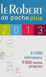 ROBERT DE POCHE PLUS 2013
