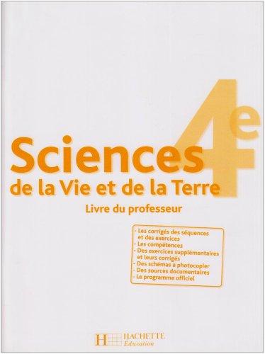 SVT 4e livre du professeur