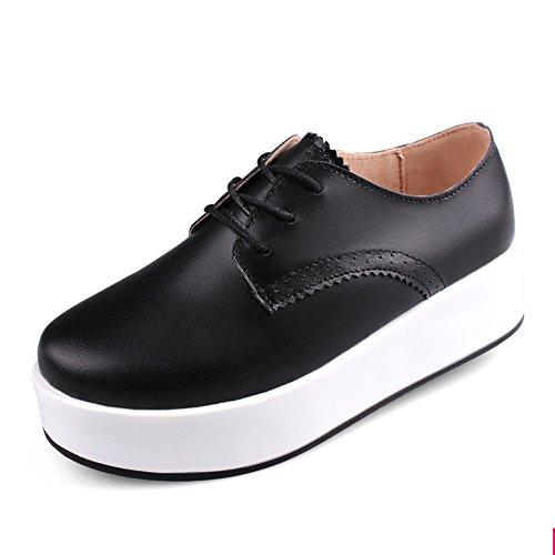 soles douces et lisses/Lacets chaussures/Chaussures femme/escoge los zapatos/chaussures à plate-forme/Les souliers B
