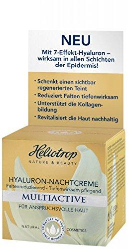 HELIOTROP Multiactive Hyaluron Nachtcreme, 50ml