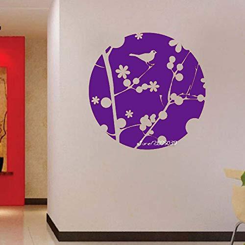 zhuziji Frühling Kugel Vinyl Wandaufkleber Dekor Wohnzimmer Hohe Qualität Wandtattoo Neuheiten Künstlerische Design Tapete Mura 888-3 42X42 cm